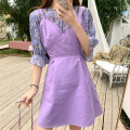 Fashion suit Summer 2020 Average size Purple top with back skirt 18-25 years old Mushiti DL1739* Other 100% Pure e-commerce (online only)