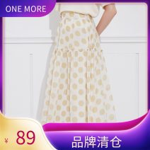skirt Autumn of 2019 XS,S,M Dot color Mid length dress commute High waist A-line skirt Dot Type A 25-29 years old 11GH937119 More than 95% one more fungus lady