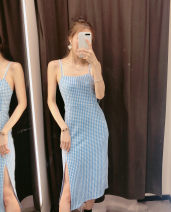 Dress Summer of 2019 Blue and white S,M,L