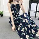 Dress Spring 2021 Color 1, color 3, color 4, color 6, color 7, beibai yellow, color 5, 6337 (color 1), 6337 (color 2), 6337 (color 3), 6337 (color 4), 6337 (color 5), 6337 (color 8), 6337 (color 10), 6337 (color 12), 6337 (color 13), 9918 (hair after shooting) S,M,L,XL longuette singleton  Sleeveless