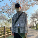 shirt Youth fashion Others Average size Yellow, green, blue, purple, black routine square neck Long sleeves easy Other leisure spring