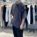T-shirt Youth fashion White, black, carbon routine Average size Others Short sleeve Crew neck easy daily spring