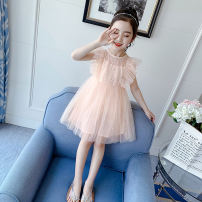 Dress Orange pink white female Shun Yi Bei Er 110cm 120cm 130cm 140cm 150cm 160cm Other 100% summer princess Skirt / vest other other other SYBER-2020-44 Class B Summer 2020