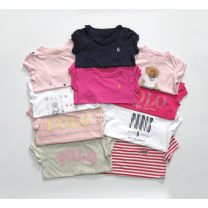 T-shirt Other / other female summer Short sleeve Crew neck No model cotton other Cotton 100% 2, 3, 4, 5, 6, 7, 8, 9, 10 years old