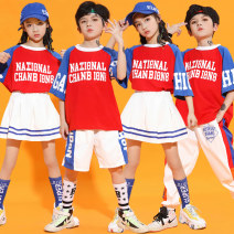 National costume / stage costume Summer 2021 110CM 120CM 130CM 140CM 150CM 160CM 170CM 180CM H-5711 Hongyanxiuyu / Hongxiu Yanyu Cotton 95% polyurethane elastic fiber (spandex) 5% Pure e-commerce (online only)