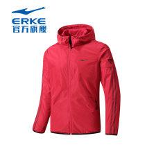 Sports jacket / jacket Erke / hongxingerke male Spring of 2019 Hood zipper Sports & Leisure Windbreak Sports life