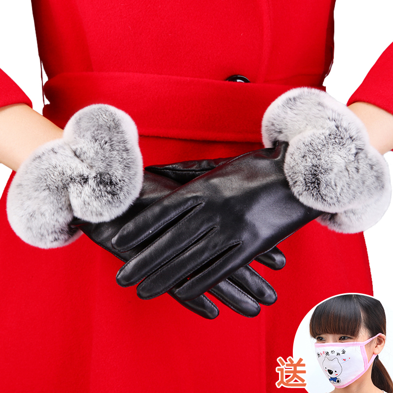 glove other female Average size Finger gloves Middle aged - 40-59, young - 20-39 lover DRS112 Di Ruishan Autumn and winter 2018 no