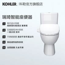 Integrated intelligent toilet Ground drainage Siphon type buffer 4.8L 305mm 400mm Kohler / Kohler ceramics 4153T-HC-0 Level 1