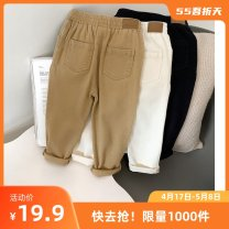 trousers Chenchen sheep male 80cm,90cm,100cm,110cm,120cm Black, khaki, white spring and autumn trousers leisure time No model Casual pants Leather belt middle-waisted cotton Open crotch Cotton 97% polyurethane elastic fiber (spandex) 3% season Class B Chinese Mainland Guangdong Province