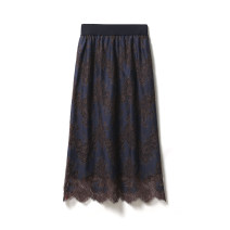 skirt Spring 2021 Frost apricot (5 / 25 hair), nebula blue (5 / 25 hair) Mid length dress commute Natural waist A-line skirt Decor Type A 30-34 years old QZ12225918 30% and below Lace Rumere / Rongmei cotton Lace Simplicity