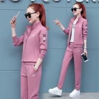Casual suit Spring 2021 Dahongcao green skin red purple red XXXXL M L XL XXL XXXL Nine Yan Other 100.00%