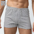 underpants male Long small lattice purple room SMLXLXXL Tani / Ting Yi 1 cotton boxer middle-waisted Simplicity other youth More than 95% Cotton fabric Arrow pants printing two thousand three hundred and twenty-seven Spring of 2018 Cotton 100% Cotton 100%