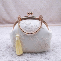 Bag handbag Super fiber synthetic leather other Other / other brand new Retro Small soft other no Single root nothing Small round bun Hard handle Certificate bag