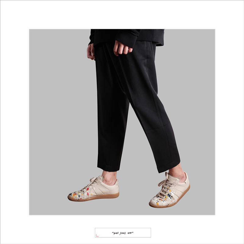 Western-style trousers Others other black S M L XL trousers