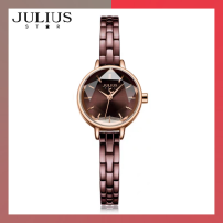 Wristwatch National joint guarantee quartz movement  Julius / Julius female stainless steel domestic 3ATM stainless steel Mineral reinforced glass mirror 8mm 22.5*28mm JA-1162 circular leisure time Pointer type brand new One piece buckle ordinary Screw in type other Autumn of 2019 Japan