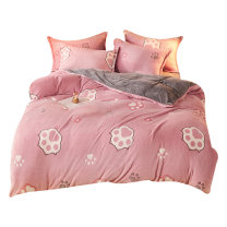 Bedding Set / four piece set / multi piece set spandex Quilting Plants and flowers 128x68 Other / other cotton 4 pieces 40 100% cotton O56732