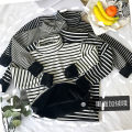 T-shirt Double layer compound Plush thickening black double layer compound Plush thickening white black thin white thin M L XL Winter of 2018 Long sleeves High collar easy Regular routine commute polyester fiber 86% (inclusive) -95% (inclusive) 18-24 years old Korean version originality Splicing