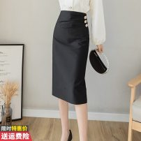 skirt Winter 2020 S M L XL 2XL black Mid length dress commute High waist skirt Solid color Type A 30-34 years old GT621-2117 More than 95% other Princess Daixiang other Pleated button zipper Korean version Other 100% Pure e-commerce (online only) 201g / m ^ 2 (including) - 250G / m ^ 2 (including)