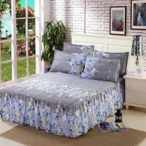 Bed skirt 150cmx200cm,180cmx200cm,200cmx220cm polyester cotton Naked marriage era, Caiyun Pavilion, flower dance life, Hello, color, summer Mocha, Star Moon Legend, husky, true love forever, little fresh, dandelion, flower sea of love Other / other Plants and flowers Superior products