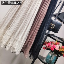 skirt Autumn of 2019 Average size Apricot black brown coffee Mid length dress commute High waist Pleated skirt Type A 2J2BxiFk More than 95% Dorsa other Korean version Other 100.00%