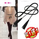 Belt / belt / chain cloth female belt Versatile Single loop youth Automatic buckle bow soft surface Dorsa Spring and summer 2011