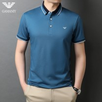 T-shirt Fashion City thin 165/48 170/50 175/52 180/54 185/56 190/58 Chiamania Short sleeve Lapel standard Other leisure summer Cotton 54% polyester 46% youth routine Business Casual Summer 2021 cotton Brand logo Fashion brand Same model in shopping mall (sold online and offline)