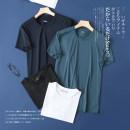 T-shirt other Black, white, Tibetan, blue grey routine L,XL,2XL,3XL Others Short sleeve Crew neck standard Other leisure summer
