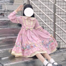 Dress Spring 2021 S,M,L Mid length dress singleton  Long sleeves Sweet Doll Collar Princess Dress puff sleeve Others 18-24 years old Type A bow Lolita