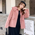 Women's large Spring 2021 Jacket / jacket singleton  commute easy thick Cardigan Solid color Korean version other routine Three dimensional cutting routine Fenghuang Yiwu 18-24 years old pocket Three buttons