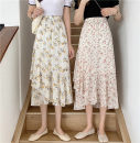 skirt Summer 2021 Average size Red, yellow longuette commute High waist other Decor Type A 18-24 years old 51% (inclusive) - 70% (inclusive) Asymmetry Korean version