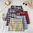 skirt Summer 2020 S,M,L Black Daisy, red grid, black grid, blue grid, green grid, purple grid 18-24 years old 71% (inclusive) - 80% (inclusive)