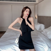 Women's large Summer 2020 black L XL S M Dress commute Sleeveless DYC3092 Yingchao 96% and above Other 100% Pure e-commerce (online only)