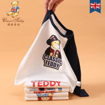 T-shirt Classic Teddy / Jingdian Teddy neutral spring and autumn Long sleeves leisure time nothing cotton Cartoon characters Cotton 100% 666-8888 12 months, 18 months, 2 years old, 3 years old, 4 years old, 5 years old, 6 years old and 7 years old