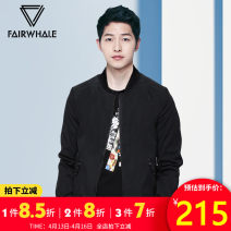 Jacket Mark Fairwhale / mark Warfield Youth fashion Black (the size is too small, it is recommended to take a bigger size) picture color 46 / 165 / s 48 / 170 / M 50 / 175 / L 52 / 180 / XL 54 / 185 / XXL 56 / 190 / XXXL popular routine standard Other leisure spring Polyester 100% Long sleeves tide
