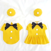 Pet clothing / raincoat currency Couples dress For XS, 1-2 kg is recommended for 18cm, 3-4 kg for s, 5-6 kg for m, 7-9 kg for L and 10-15 kg for XL Other / other leisure time T-shirt (for hat), skirt (for hat)