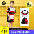 suit AB (mother infant) Decor 110cm 120cm 130cm 140cm 150cm 160cm male summer leisure time Short sleeve + pants 2 pieces routine There are models in the real shooting Socket nothing printing cotton T-A211-012110 Class C Cotton 100% Summer 2021