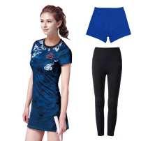 Badminton wear Dress without underpants, dress + blue underpants, dress + Black underpants (medium thick), dress + blue underpants + long underpants (medium thick), dress + Black underpants (thin), dress + blue underpants + long underpants (thin) female S,M,L,XL,XXL,XXXL Aysitr / aysitr
