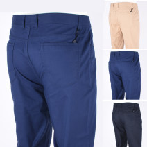 Casual pants Dickney Fashion City Blue, sapphire, khaki 29,30,31,32,33,34,35,36,38,40 routine trousers Other leisure Straight cylinder No bullet 19467U403 summer Business Casual 2019 middle-waisted Straight cylinder Solid color cotton Domestic famous brands 50% (inclusive) - 69% (inclusive)