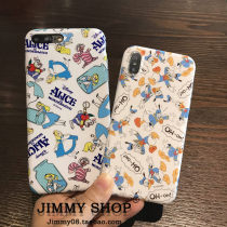 Mobile phone / digital animation appliances Mobile phone case / set One Over 14 years old Alice Donald 6 / 6S 6p / 6sp small 7 / small 8 7 plus / 8 plus iPhone x