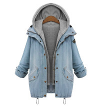 short coat Winter of 2018 M,L,XL,2XL,3XL,4XL light colour Long sleeves have cash less than that is registered in the accounts routine Two piece set easy street raglan sleeve Hood Single breasted Solid color Other / other 31% (inclusive) - 50% (inclusive) Frenulum