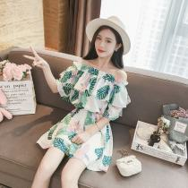 Casual pants White background S M L XL Summer of 2018 shorts Jumpsuit High waist commute routine 51% (inclusive) - 70% (inclusive) Other / other other