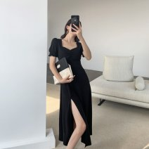 Quick drying suit Under 50 yuan S,M,L,XL,2XL,3XL Black long, black short Summer 2020 five point one one female