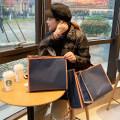 Gift bag / plastic bag navy blue 50 Simple and fashionable
