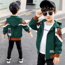 Plain coat Other / other male 110cm,120cm,130cm,140cm,150cm,160cm Green 1971 jacket, Royal 1971 jacket spring and autumn Korean version Zipper shirt There are models in the real shooting routine No detachable cap other other other Other 100% Class C