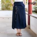 skirt Summer 2021 Average size Navy, coffee, green High waist More than 95% other hemp