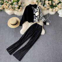 Fashion suit Spring 2021 Average size black 18-25 years old 31% (inclusive) - 50% (inclusive)