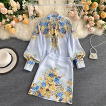 Fashion suit Autumn 2020 M,L,XL blue 18-25 years old 31% (inclusive) - 50% (inclusive)