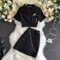 Fashion suit Summer 2020 M, L black 18-25 years old 31% (inclusive) - 50% (inclusive)