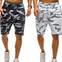 Casual pants Others Youth fashion M,L,XL,XXL Shorts (up to knee) Travel? Straight cylinder