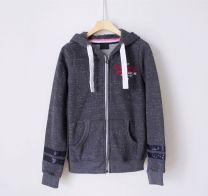 Sweater / sweater Autumn of 2018 Grey, orange XS,S,M,L Long sleeves routine Cardigan singleton  Plush Hood routine 31% (inclusive) - 50% (inclusive) 1AU0OC2201 zipper
